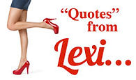 Quotes from Lexi, by Linda Cousine