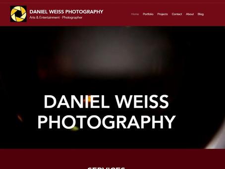 Webseite im neuen Kleid