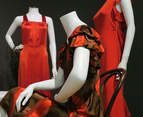 Sleeves Evening Gown - Nightclub scene (