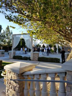 Wedding Setup Ashley Castle