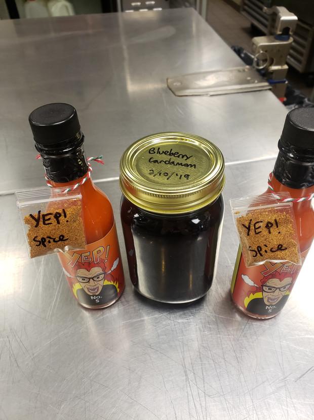 2 YEP!s and a Blueberry Cardamom Jam