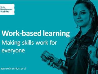 Skills Development Scotland - Work-based Learning
