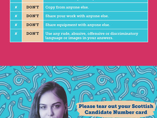 Exam Dos and Don'ts