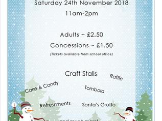 Forthcoming Christmas Fair