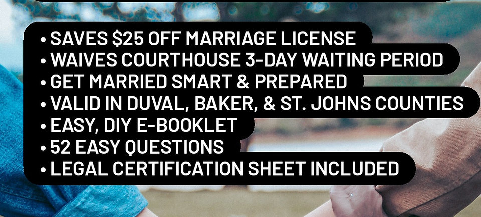 Premarital Counseling Course | FREE WHEN YOU BOOK A WEDDING WITH US!