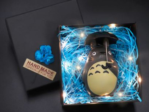 Totoro (with lights) - 10cm Tall