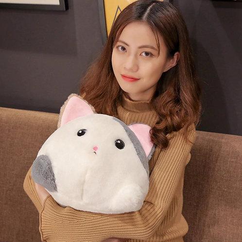 Cartoon Stuffed Animals Plush Toys Cute Round Ultra Soft Animals Pillow Rabbit C