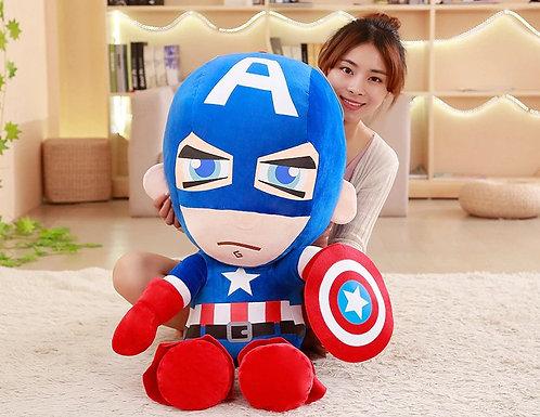 NEW 25-50cm Marvel Avengers Captain America Iron Man Spiderman Plush Toy Soft