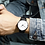 Thumbnail: Business Men Women Fashion Military Stainless Steel Analog Date Sport Quartz
