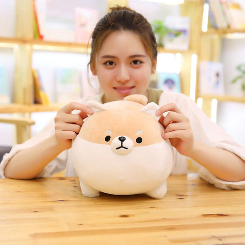 New 40/50cm Cute Shiba Inu Dog Plush Toy Stuffed Soft Animal Corgi Chai Pillow
