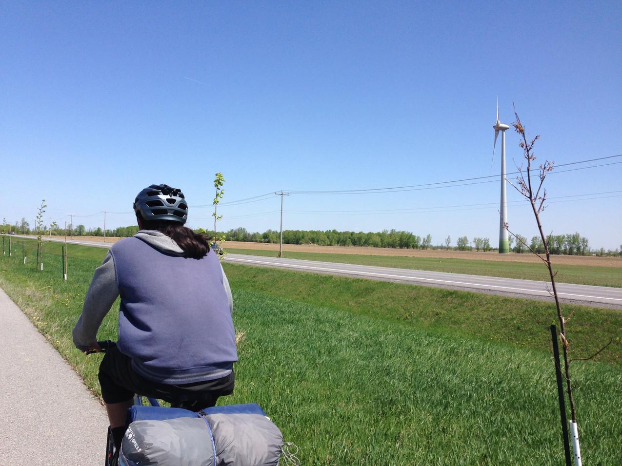 TWV Bike Trip - On the way to Ste Catherine!
