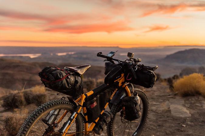 bike sunrise