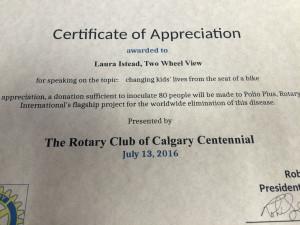 TWV @ Rotary Club