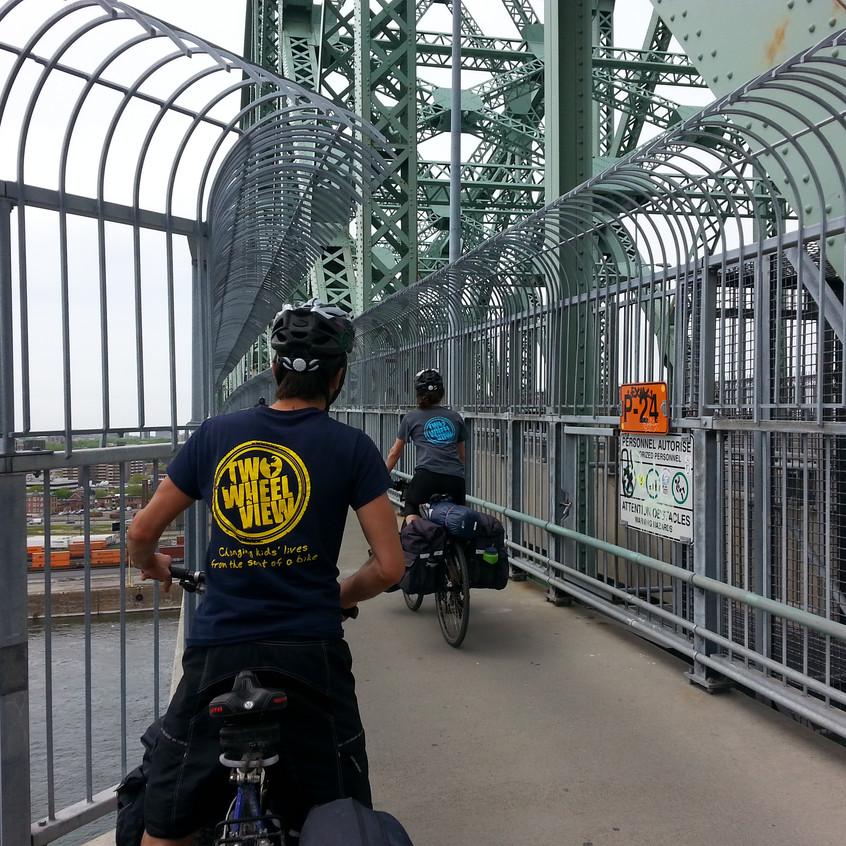 TWV Bike Trips - Ste Catherine back
