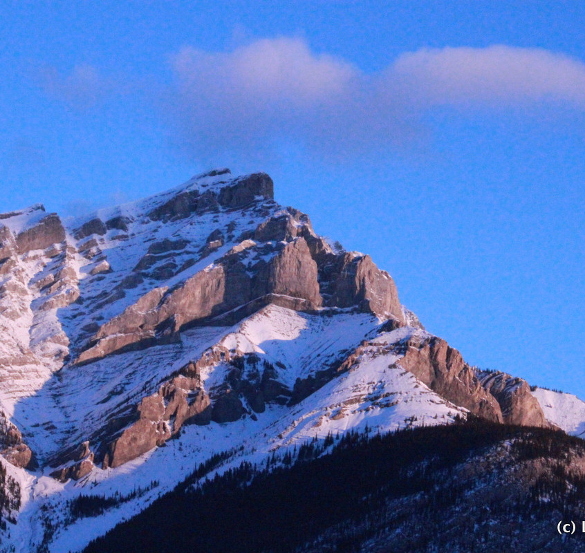 Mountains in Banff