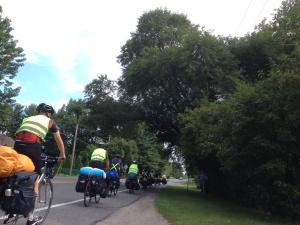 TWV Custom Bike Trips - Quebec - Woodcliff United Church