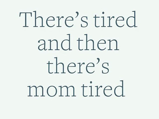 Tired, we thought we knew ...