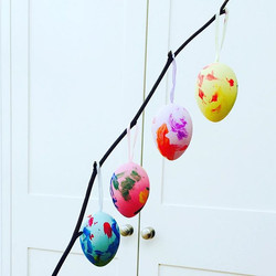 #HappyEaster 🐰🐥🌼masterpieces by #busygirl  little hands big plans!