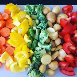 #soup fixings  #Beautiful #natures #colours #busygirl #littlehandsbigplans