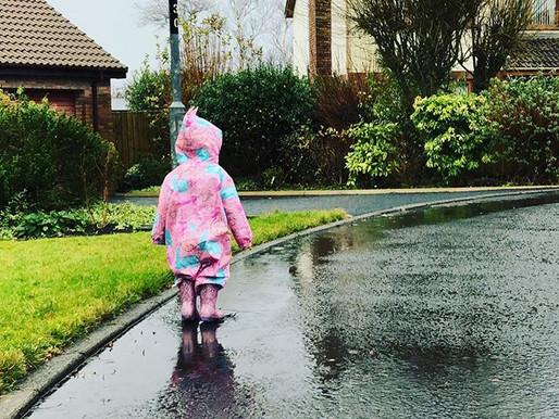 Singing in the Rain ....