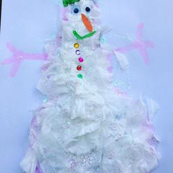 #olaf⛄  #littlehandsbigplans #busygirl ' do you want to build a snowman_'