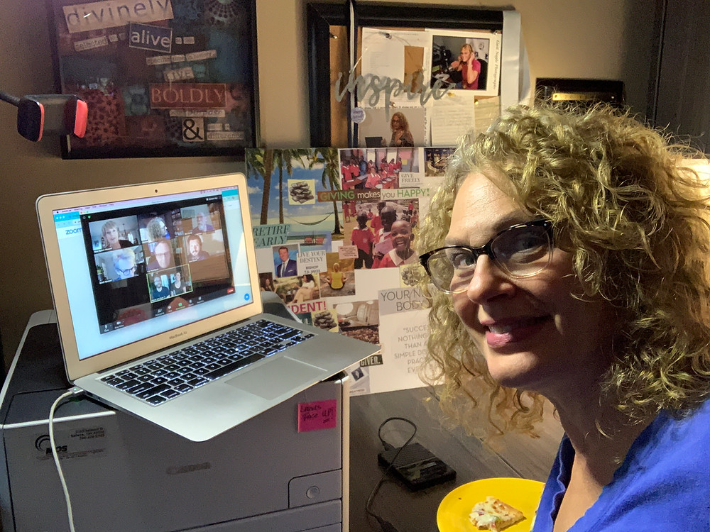 Sherrie Doing a Virtual Visit