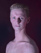 Rhys Thomas Ballet Theatre UK dancing the role of the Tinman in The Wizard of Oz