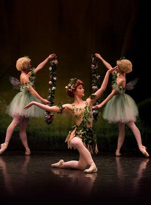 Puck, Midsummr Night's Dream Ballet Theatre UK