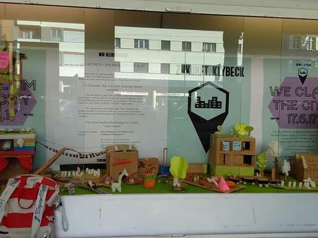 keck-kiosk schaufenster