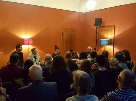 Podiumsdiskussion im Unternehmen Mitte - 9.März 2018