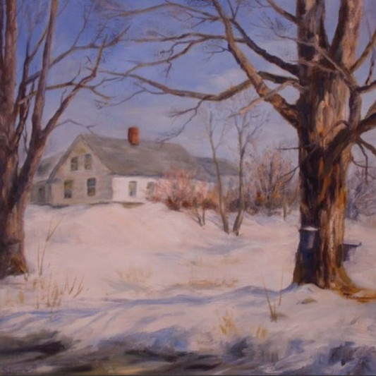 Maple_Syrup_Time-Painting-2009-Elizabeth