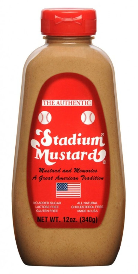 Stadium Mustard 12 oz Bottle