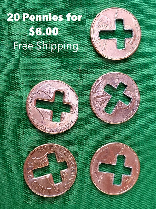20 Penny Crosses