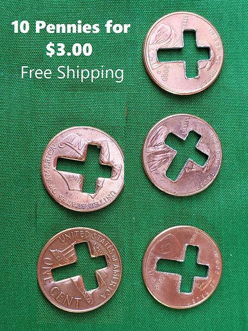 10 Penny Crosses