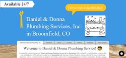 Daniel and Donna Website Design
