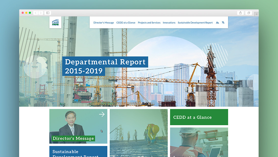 CEDD Departmental Report