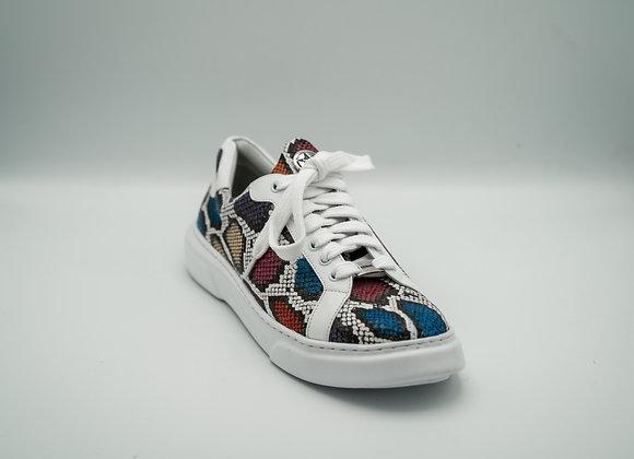 Ladies Urban Sneaker Colored Snake