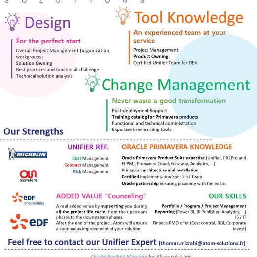 Notre offre Oracle Primavera Unifier