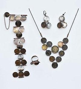 Old Coins Jewelry ,פיסול, בוריס צלניקר,  boris tselnicker, борис цельникер
