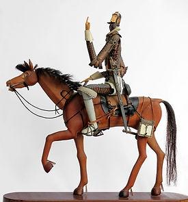 cover Don Quixote,פיסול, בוריס צלניקר,  boris tselnicker, борис цельникер