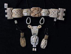 Bone Jewelry ,פיסול, בוריס צלניקר,  boris tselnicker, борис цельникер