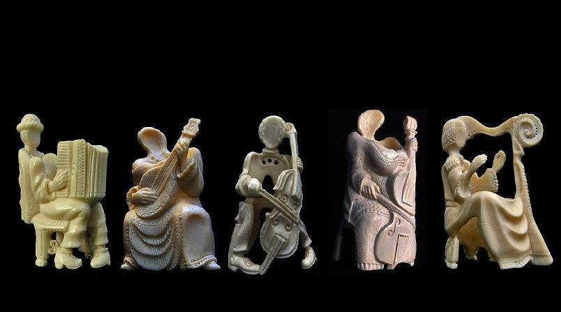 Boris Tselnicker, Quintet, בוריס צלניקרת פסל, יודייקה, יודייקא