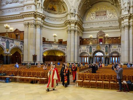 2021-05-23 Ökumenische Vesper zu Pfingsten in Berliner Dom