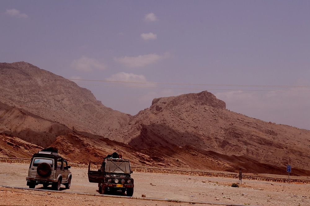 Zero Point in the mountains where we stopped before reaching Gorakh Hills