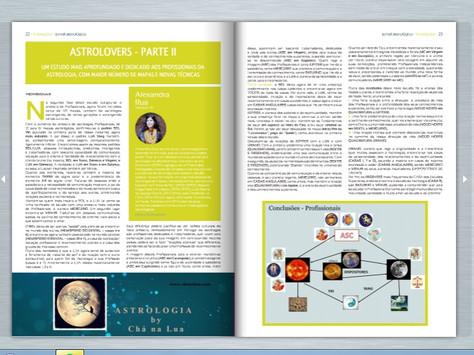 """""""ASTROLOVERS - PARTE II: Um estudo mais aprofundado e dedicado aos Profissionais da Astrologia,"""