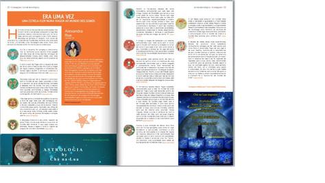 """Conto infantil nosso publicado no Jornal 4 Estações da ASPAS, Edição nº 17, páginas 22-23: """"Era"""