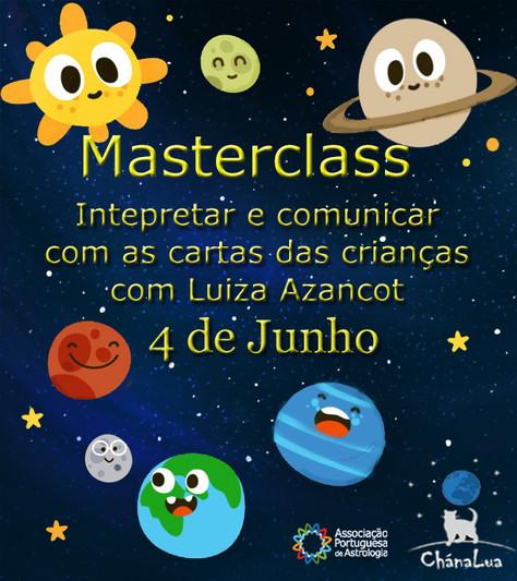 Masterclass - Interpretar e comunicar com as cartas das crianças por Luiza Azancot