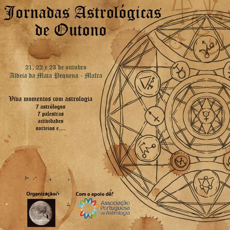 Chá na Lua organiza Jornadas Astrológicas de Outono, em Mafra, no fim-de-semana de 21 a 23 de Outubr