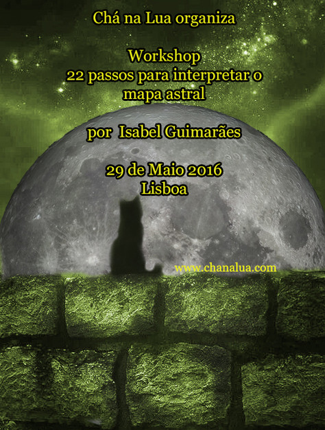 "Isabel Guimarães virá a Lisboa dar o Workshop ""22 passos para interpretar o mapa astral"" n"