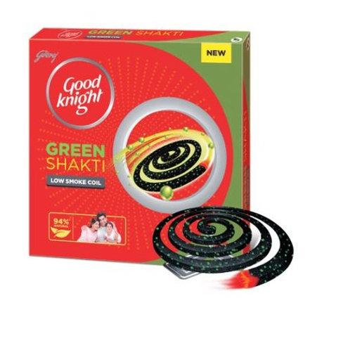 Good Knight Green Shakti Chauka Coil 4 N Pack of 3